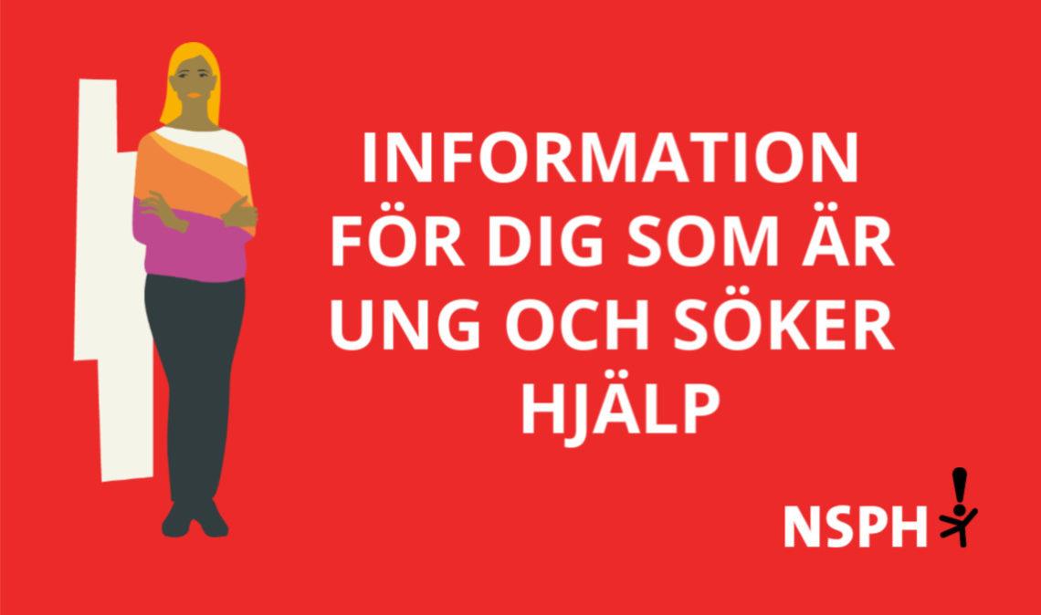 länk till information för dig som är ung och söker hjälp