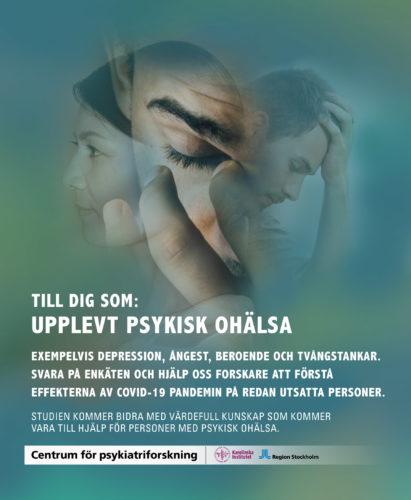 Hur påverkar Covid-19 dig som lider av psykisk ohälsa?