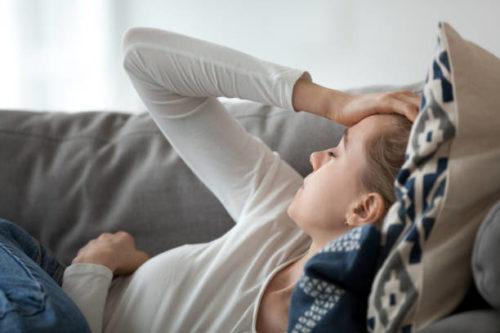 Symptom efter utmattning kvarstår lång tid